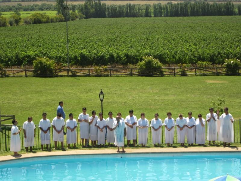 bautizo evangélico