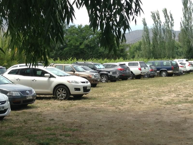 estacionamientos en el club